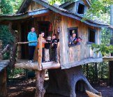Creative Garden Spaces Inc, Oak Ridge NC, tree house, custom woodwork, playspace